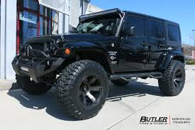 lexus suv wheels jeep wrangler with 20in fuel beast wheels and toyo open country mt