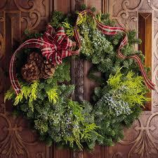 fresh wreaths mail order wreaths