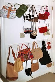 storage for bags purses organizational pinterest purse