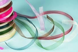 organza ribbon 10mm chiffon organza ribbon x 25yds