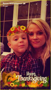 cute thanksgiving photos reese witherspoon shares cute thanksgiving family photos photo