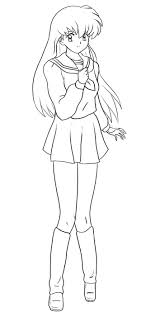 inuyasha the final act children coloring pages