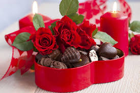 flowers and chocolate flowers bouquet february 14 heart candy chocolate