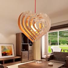 Living Room Pendant Lighting Wood L Restaurant Bedroom Living Room Pendant Light Led