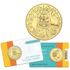 50th anniversary gold plate international numismatics coins banknotes and collectables