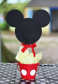 Mickey Mouse Center Pieces πάνω από 25 κορυφαίες ιδέες για γενέθλια Mickey Mouse στο