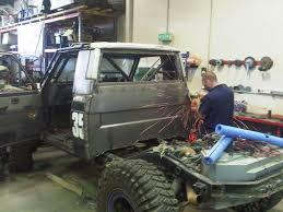 homemade truck cab my nissan patrol winch truck build race dezert