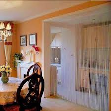 Panel Curtains Room Dividers String Tassel Panel Curtain Room Divider Door Hanging 1m X 2m