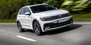 volkswagen white car volkswagen tiguan review carwow
