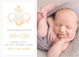 birth announcements birth announcements 40 designs basic invite