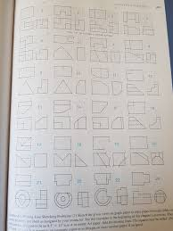 draw 1 3 and 5 in orthographic projection add the chegg com