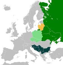 Language Map Of Europe by Balto Slavic Languages Wikipedia