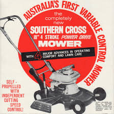 southern cross kx b c1963 the tin mowers outdoorking repair