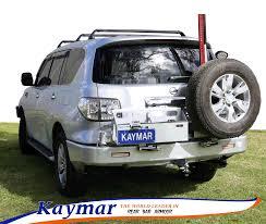 nissan australia phone number kaymar rear bars spare wheel carriers jerrycan holders