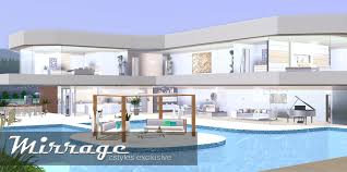 ice sims creations mirrage bedroom modern house home building