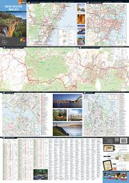 map of new south wales new south wales state map hema maps