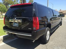 cadillac escalade esv 2007 for sale used 2007 cadillac escalade esv suv stretch limo