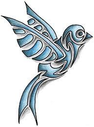 50 tribal birds tattoos