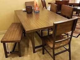 clearance lastick furniture floor coverings pottstown pa 19464 6 pc dining room set includes table 4 chairs bench