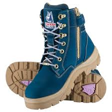 steel blue womens boots nz s s work boots and safety shoes steel blue