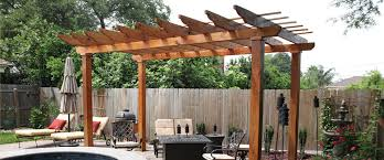 Wood For Pergola by Decks U0026 Pergola U2013 Impact Fence And Deck