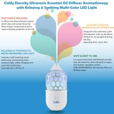 amazon com calily u0026 8482 eternity ultrasonic essential oil