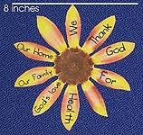 sunday school thanksgiving craft make the thankful sunflower