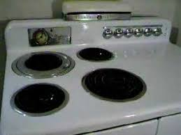 Ge Electric Cooktops Airliner Ge Vintage Stove Youtube