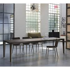 italian extendable dining table senso modern italian extending dining table