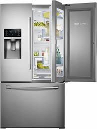 french door refrigerator prices samsung showcase 27 8 cu ft french door refrigerator with thru