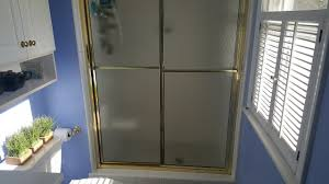 video how to clean shower doors get rid of soap scum tutorial