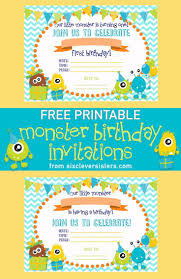 Free Printable Halloween Invitations Kids Best 25 Monster Invitations Ideas On Pinterest Monster Party