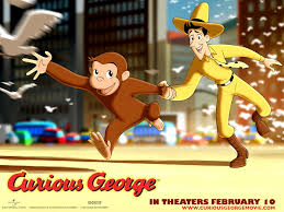 free wallpapers cartoons wallpaper curious george movie