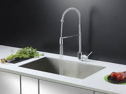 kitchen sink faucets ruvati rvc2601 stainless steel kitchen sink and chrome faucet set