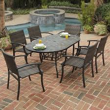 Patio Dining Sets Costco - furniture shop patio furniture sets at lowes patio table sets