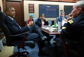 Situation Room Meme - president obama meets with national security council at white house
