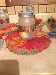 Fall Wedding Centerpiece Ideas On A Budget by 176 Best Mason Jar Fall Ideas Images On Pinterest Holiday Crafts