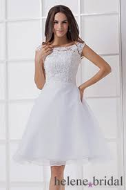 plus size knee length wedding dresses with sleeves