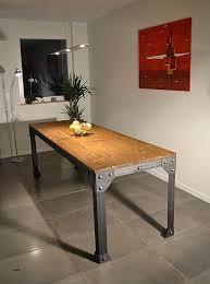 table cuisine bois brut table de salle a manger billard unique salle de billard billard