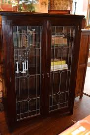 Mahogany Bookcase With Glass Doors Mahogany Bookcase With Doors Solid Mahogany Beacon Hill Bookcase