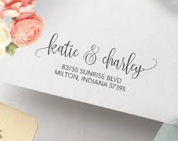 return address wedding invitations invitation st etsy