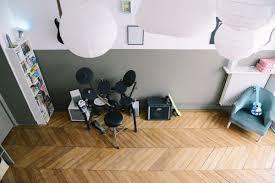 chambre rock décoration chambre ado rock musique kaki