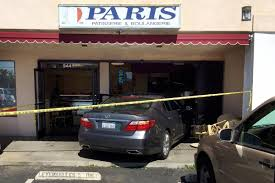lexus westminster service special car crashes into westminster coffee shop injuring 3 including the