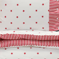 Red Duvet Set Buy Gant Stars And Stripes Duvet Cover Bright Red Amara