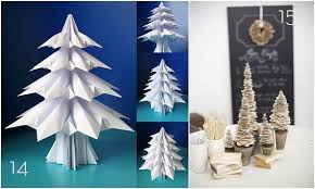 Diy Paper Christmas Decorations Roundup 15 Diy Paper Holiday Decor Projects Curbly