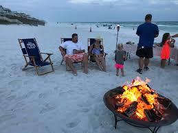 30a beach bonfires 285 beach fire services w smores for 30a