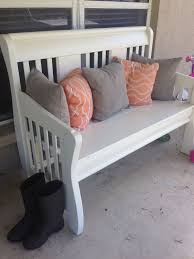 How To Make A Toy Box Bench Seat by Best 25 Crib Bench Ideas On Pinterest Reuse Cribs Old Cribs