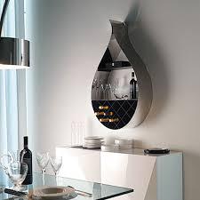 modern wine rack with a water drop design freshome com