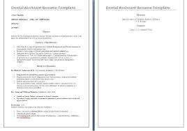 Dental Assistant Resumes Dental Assistant Resume Skills List Bio Letter Format