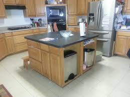 adding a kitchen island adding area to the kitchen island